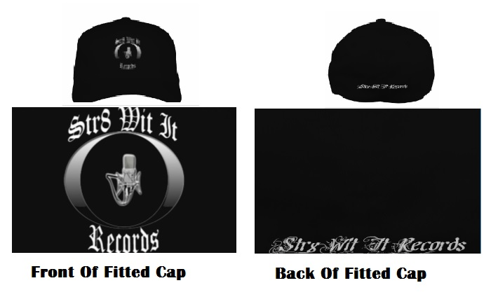 Str8 Wit It Records Fitted Cap
